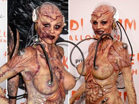 Heidi Klum's goriest Halloween costume yet finally revealed for 2019 after 13 hours of prosthetics