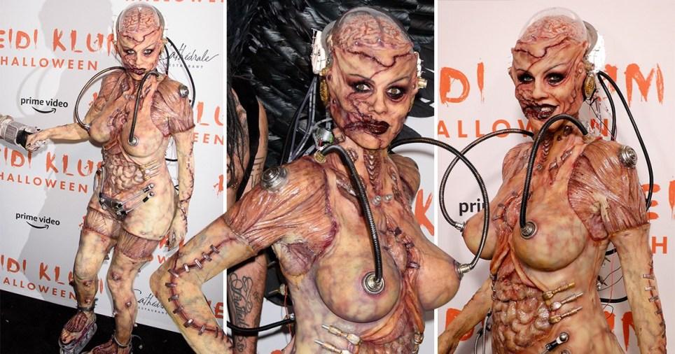 Heidi Klum Halloween 2019