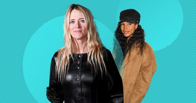 Edith Bowman and Vick Hope