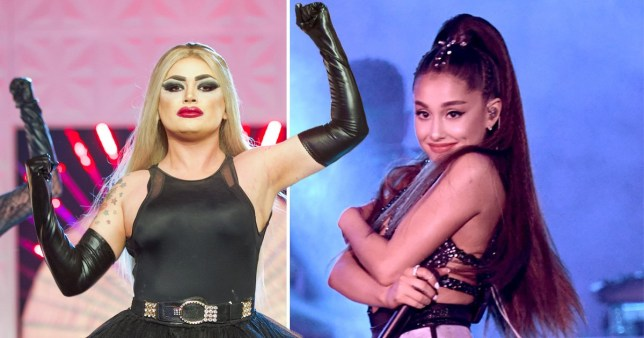Baga Chipz Ariana Grande Drag Race UK