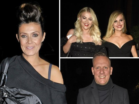 Coronation Street stars celebrate Kym Marsh's leaving party as she bids farewell to Weatherfield