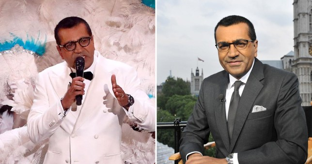 Martin Bashir on The X Factor