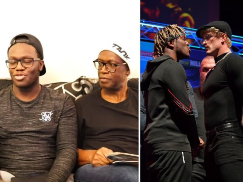 KSI's parents accuse brother Deji of being 'Logan Paul fanboy' ahead of boxing rematch