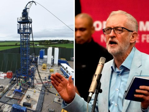 Jeremy Corbyn brands fracking move an 'election stunt' and backs permanent ban