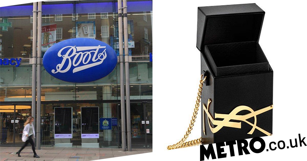 Boots is giving way free Yves Saint Laurent box bags when you spend £100 - Metro.co.uk