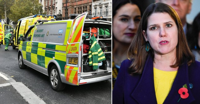 Police are investigating a suspicious package found in Lib Dem leader Jo Swinson's office