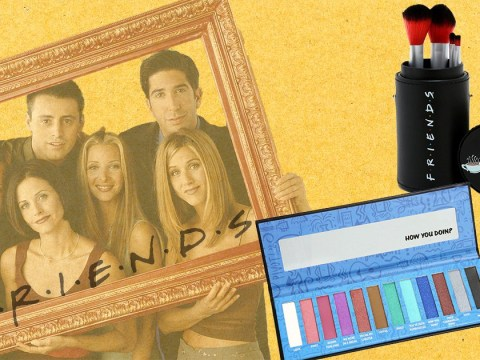 You can now buy a Friends-inspired eyeshadow palette and brush set