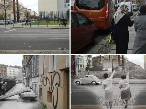 Moving pictures mark 30 years since the Berlin Wall came crashing down