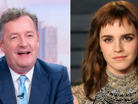 Piers Morgan scoffs at Emma Watson's 'self-partnered' label: 'That means you can't get a bloke'