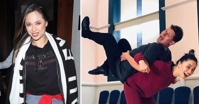 Strictly's Katya Jones is back on social media