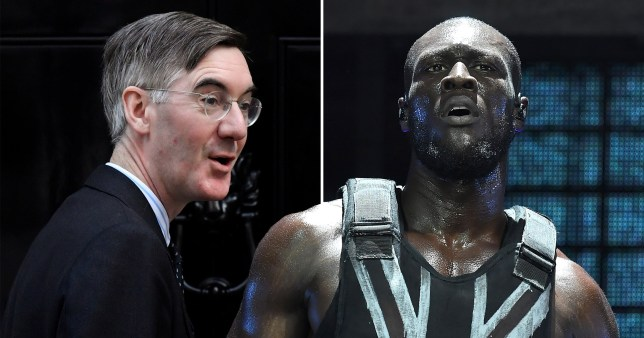 Stormzy and Jacob Rees-Mogg