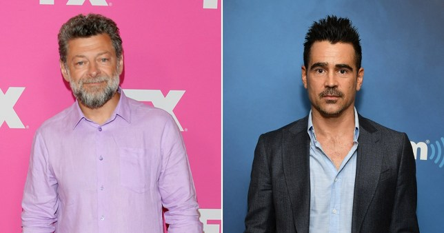 Andy Serkis and Colin Farrell
