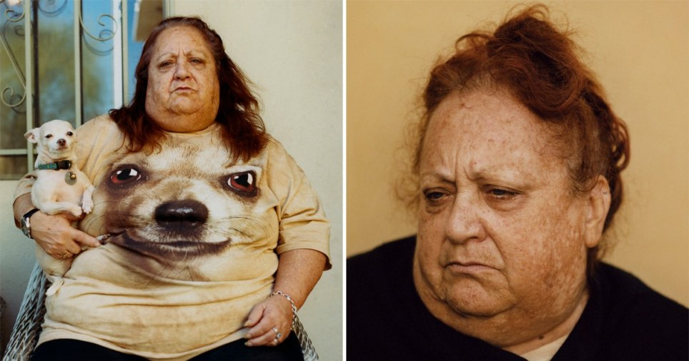 Pat Martin, 27, won the £15,000 Taylor Wessing Photographic Portrait Prize for two works from his series Goldie (Mother).