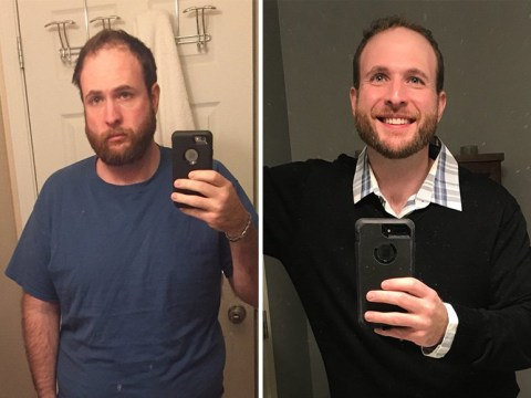 Man takes selfies for three years to show how much sobriety has changed him