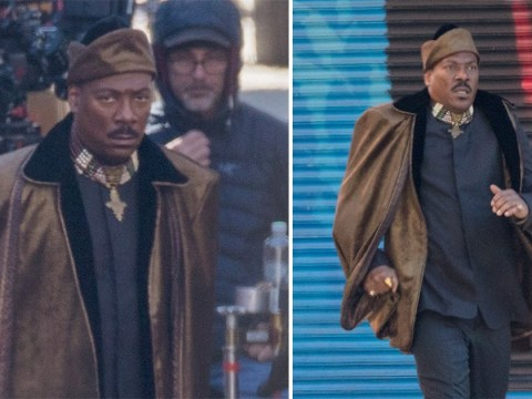 New Coming To America pictures show Eddie Murphy running around Queens and we have serious questions