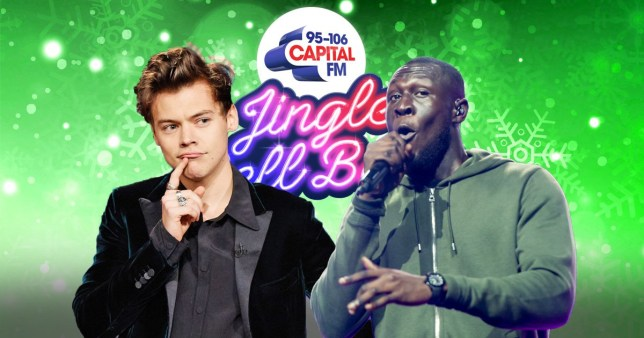 Harry Styles and Stormzy Capital Jingle Bell Ball