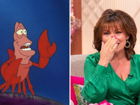 Lorraine Kelly didn't realise Sebastian from The Little Mermaid was a crab – yes, seriously