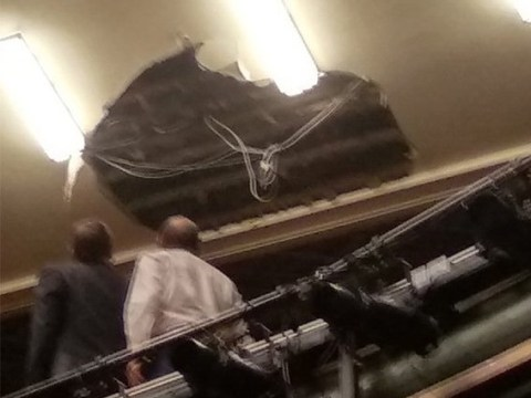 Several injured as Piccadilly Theatre ceiling collapses during performance