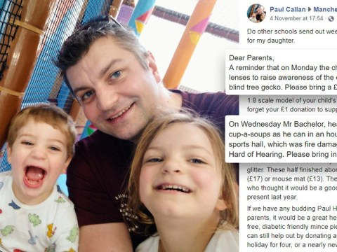 Fed-up dad creates his own school newsletter after being bombarded with demands
