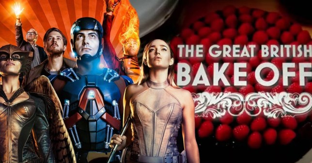 DC Legends of Tomorrow and The Great British Bake Off