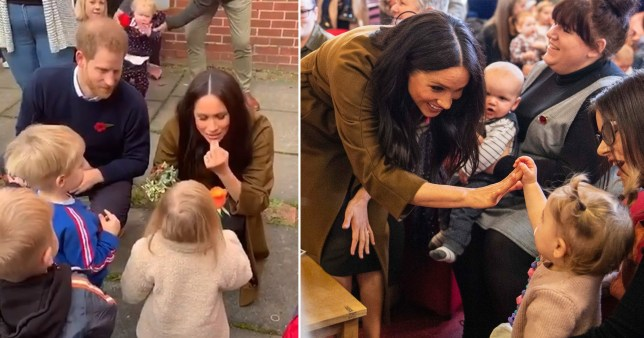 Meghan Markle and Prince Harry reveal baby Archie is crawling and has two teeth