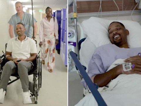 Will Smith gets a colonoscopy and 'shows his butt' on the 'gram to reach 50 million followers
