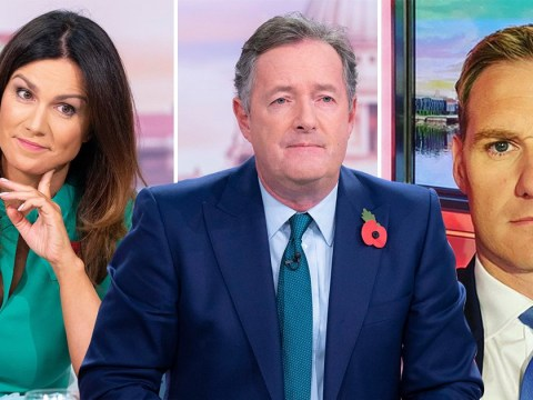 Dan Walker accuses Susanna Reid of trying to be 'provocative' as spat over Piers Morgan gets heated