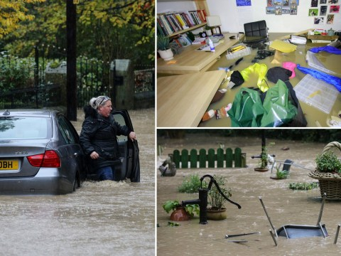 Major floods strike across Yorkshire after heavy rain
