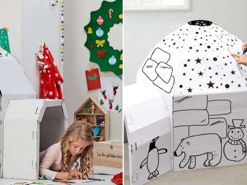 Hobbycraft is selling a £7.50 colour-in igloo that's perfect for when it's cold outside