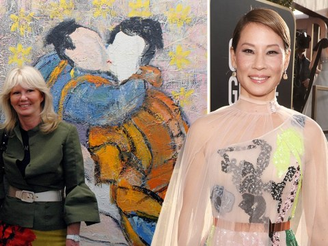 Lucy Liu's secret side hustle is painting lesbian portraits and she's actually amazing at it