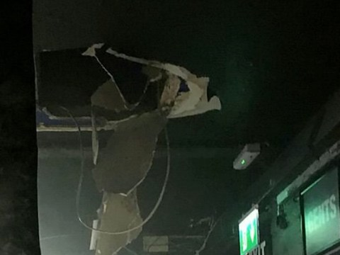 Barman falls through nightclub ceiling while making cocktail