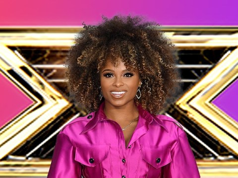 Fleur East had her reservations about X Factor: All Stars but is backing Megan to win Celebrity series