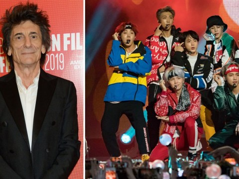 Rolling Stones star Ronnie Wood is open to working with BTS: 'Anything could happen'