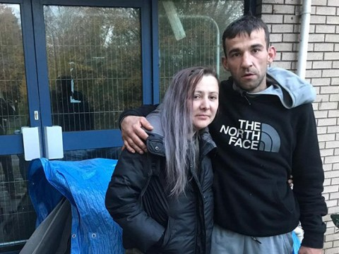 Homeless couple attacked with fireworks in their tent and mocked online