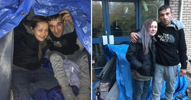 Homeless pair describe being trapped by gang in tent, attacked with fireworks and humiliated on social media