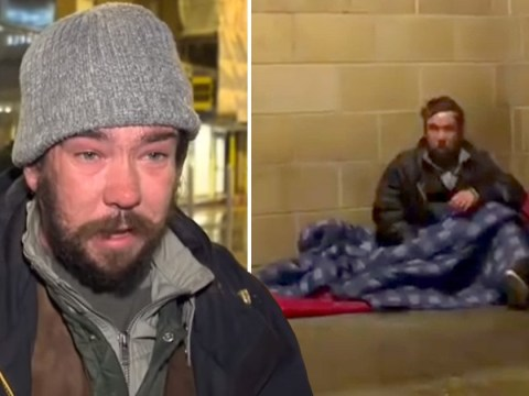 Homeless man banned from night shelter because of 'hygiene issues'