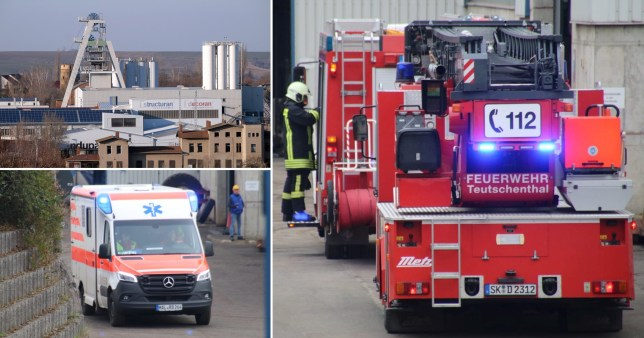 Thirty workers trapped in mine after explosion in Germany