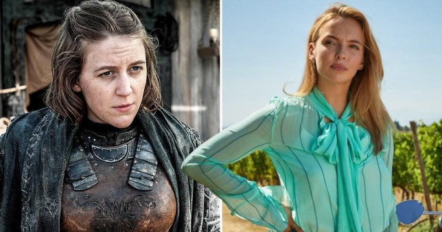 Game Of Thrones' Gemma Whelan and Killing Eve's Jodie Comer