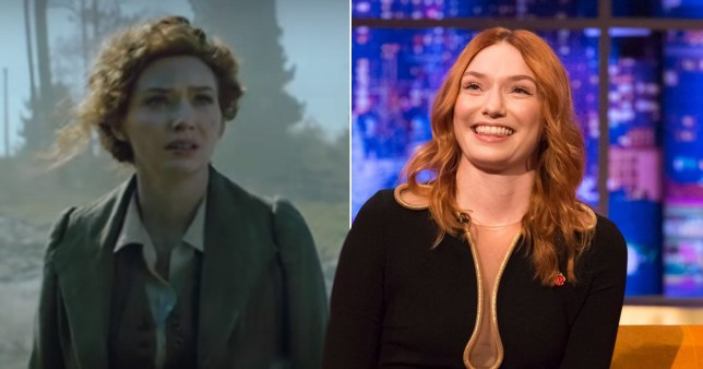 Eleanor Tomlinson on War Of The Worlds and the Jonathan Ross Show