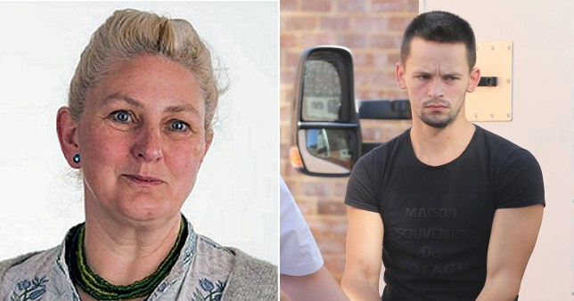 Cristian Sabou has been jailed for murdering Valerie Graves (Picture: Eddie Mitchell)