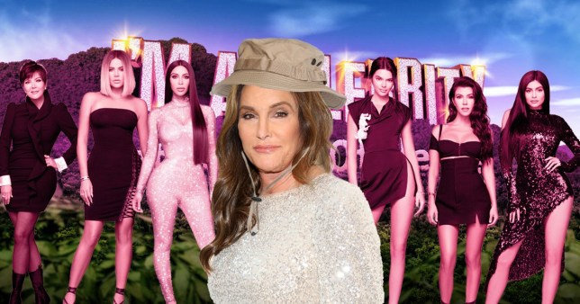A comp of Caitlyn Jenner and the Kardashians