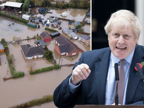 Boris Johnson calls emergency meeting as hundreds evacuated over flooding