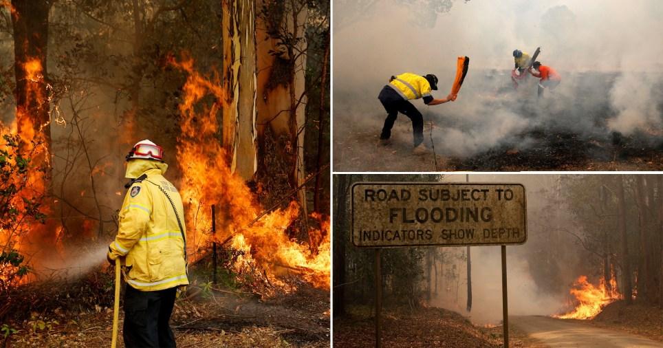 More than 100 bushfires are burning in Australia