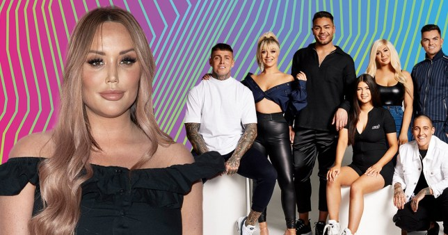 Charlotte Crosby and the Geordie Shore series 20 cast