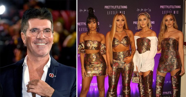 Simon Cowell and Little Mix have a rivalry on their hands