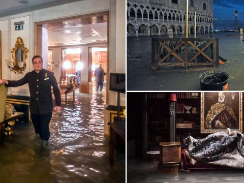 Venice hit by worst flooding in 50 years as climate change takes its toll
