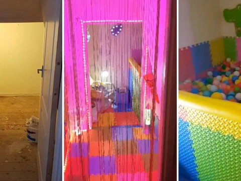 Mum creates amazing DIY playroom for son with sensory processing issues for £80
