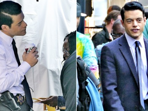 Rami Malek goes from Bond villain to good cop as he films serial killer thriller Little Things