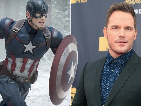Chris Pratt originally auditioned to play Captain America and we are struggling to imagine it