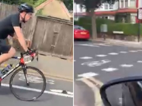 Car passenger's anger at cyclist for not using new £42,000,000 bike lane